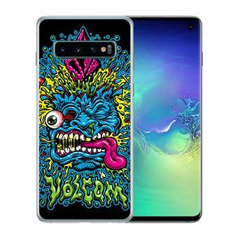 Coque pour Samsung Galaxy S10 volcom abstrait
