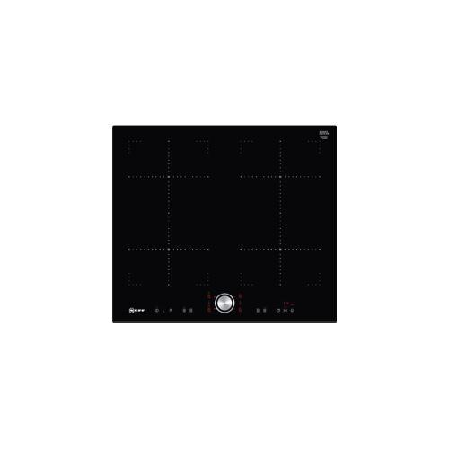 Neff N 70 T46FT73X2 - Table de cuisson à induction - 4 plaques de cuisson - Niche - largeur : 56 cm - profondeur : 49 cm - noir - avec avant biseauté - noir