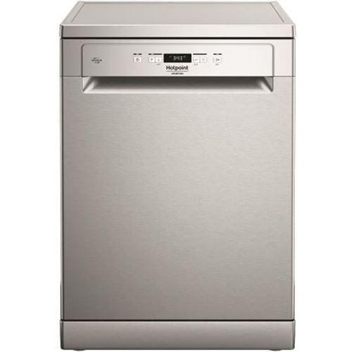Hotpoint Ariston HFC 3C26 F X - Lave-vaisselle - pose libre - Niche - largeur : 60 cm - profondeur : 59 cm - hauteur : 82 cm - acier inoxydable