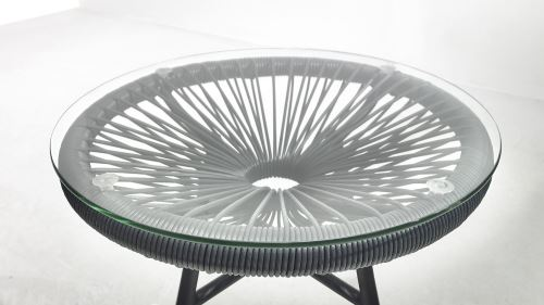 BOBOCHIC Pinto - Salon de jardin 2 places - design oeuf ...