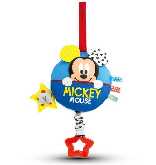 Clementoni figurine suspendue avec musique Mickey Mouse 18 cm