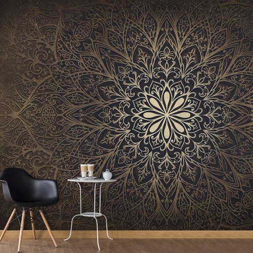 Papier peint XXL - Mandala II - Décoration, image, art | Fonds et Dessins | Géométrique | 500x280 cm | XXl - Grand Format |