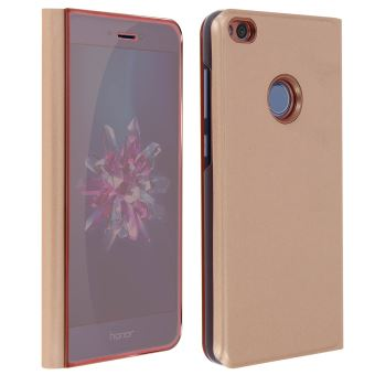 coque huawei p9 lite mirroir rose