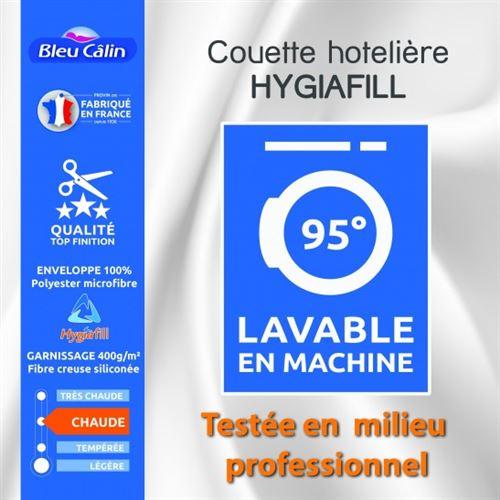 Couette Hotelière Hygiafill 200 x 200 cm pour lit 120 x 190 cm