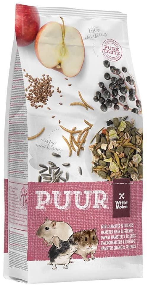 Puur Muesli Gourmet Nourriture pour Hamster Nains/Gerbille/Souri 400 g