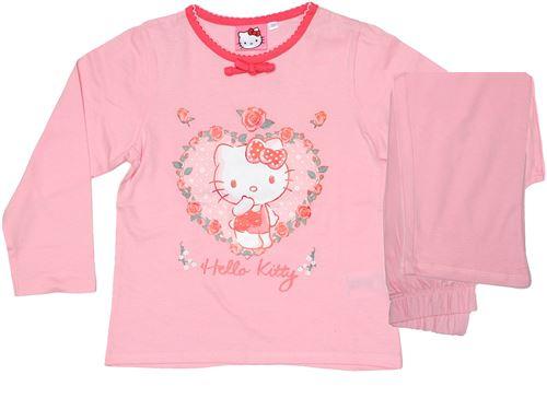 Hello Kitty pyjama coton rose