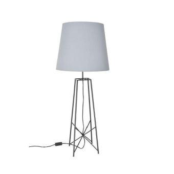 Etoile Lampe A Poser Metal D 40 X H 96 Cm Noir Mat Achat Prix Fnac