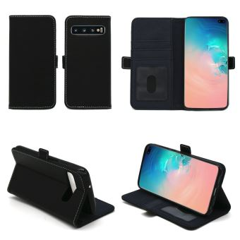 Nieuw Samsung Galaxy S10 PLUS (S10+) Etui Protection Portefeuille à SZ-64