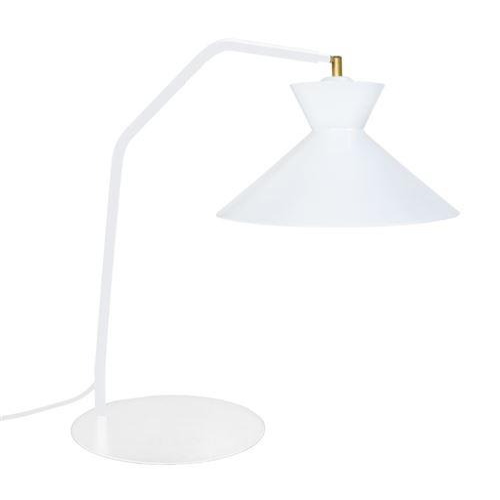 Lampe Leeds - Cône Blanc - E27 40W