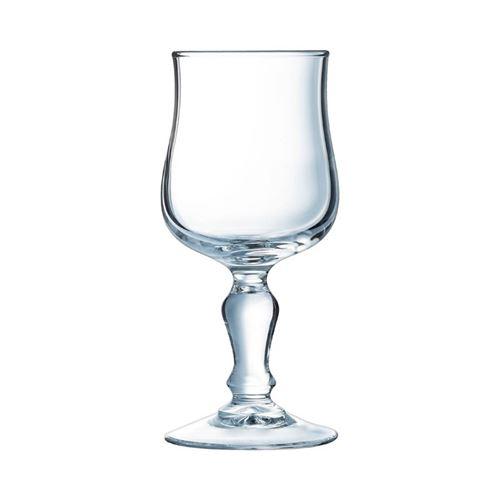 Verres à Vin pour Restaurant 160 ml - x 12 - Arcoroc Normandie - 6,7 cm Verre trempé 16 cl