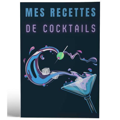 Mes Recettes de Cocktails | Design Blue