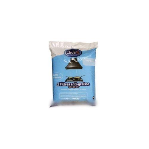 Filtres anti graisse 140g/m2 pour hotte brandt - 1082602