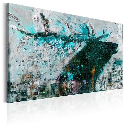 Tableau - Sapphire Deer - Décoration, image, art | Animaux divers | 60x40 cm |