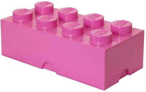 Lego Storage Brick 8 Large Bright Pink