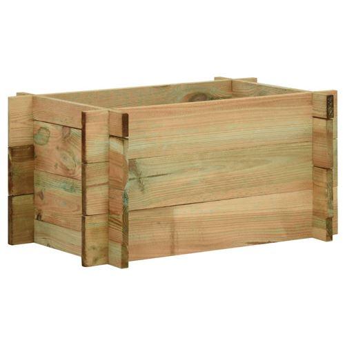 Jardinière surélevée pour légumes Bois de pin imprégné 40 cm