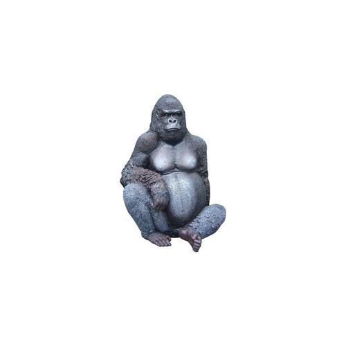 Texartes - Gorille assis en résine 115 cm
