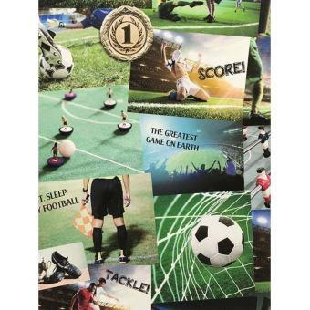 Collage De Football Papier Peint Fine Decor Decors Et Stickers