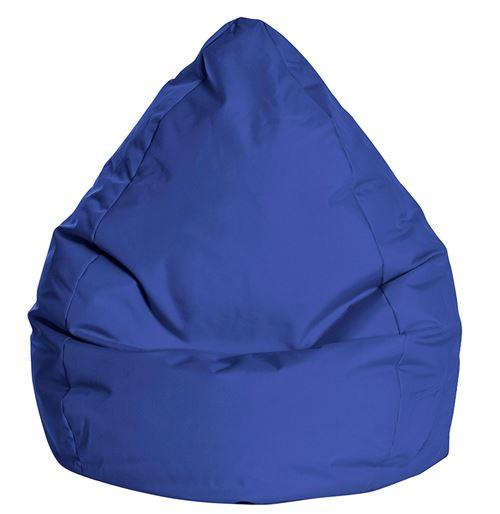 Pouf Poire Brava XXL Bleu