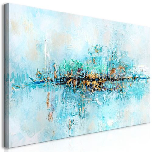 Tableau - Lagoon (1 Part) Wide .Taille : 120x60