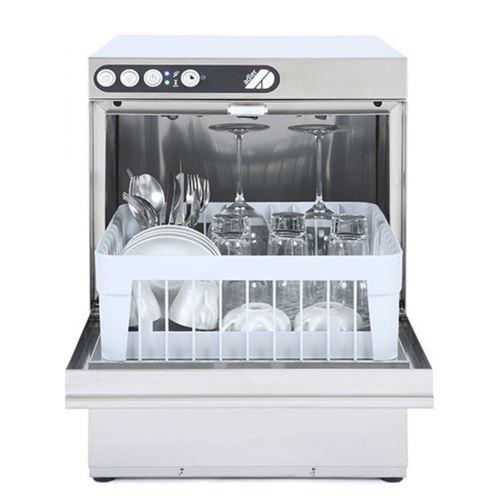 Lave-verres 350 x 350 mm - pompe intgr - inox