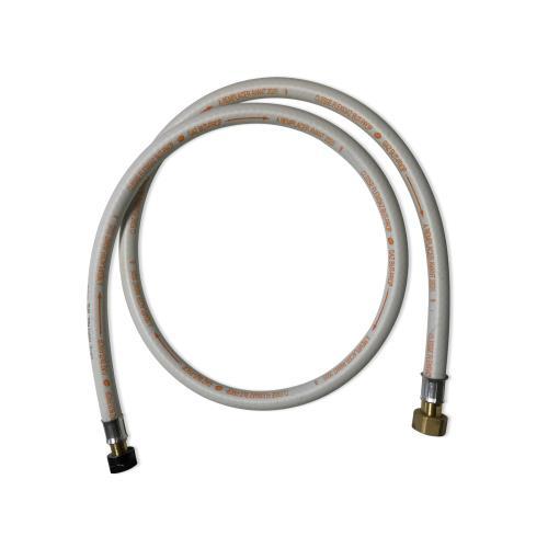 Flexible gaz NF tuyau à embouts mécaniques - élastomère renforcé G1/2 - M20x15 Validité 10 ans joints inclus propane ou butane 15m