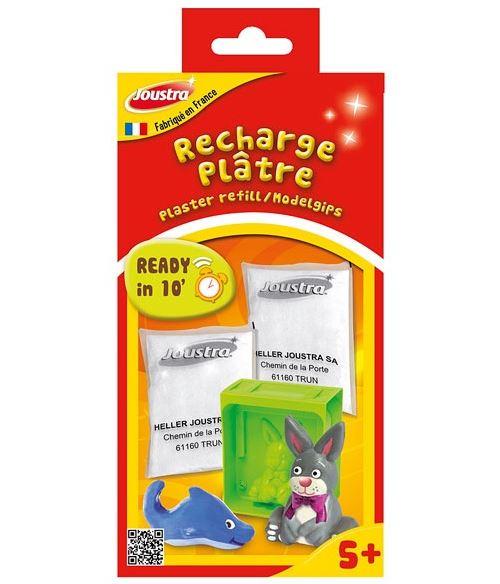 Joustra - 43511 - kit de loisir créatif - recharge plâtre