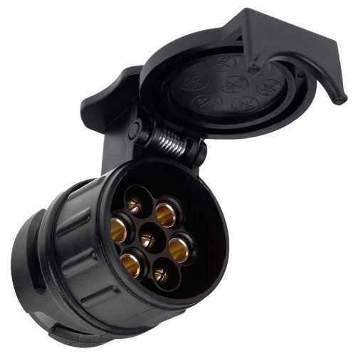 Adaptateur de remorque 13 Broches /à 7 Broches pour Voiture,Camion,Caravane,etc.Adaptateurs Socket Converter connecteur