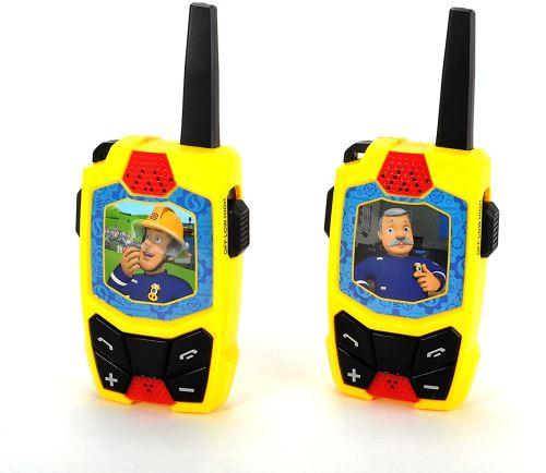 Dickie Toys Sam Walkie Talkie sans Fil 434 MHz Portée jusqu'à 250 m