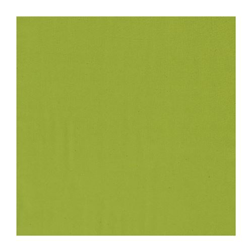 Serviette de Table Unie vert kiwi 50 x 50 cm Winkler