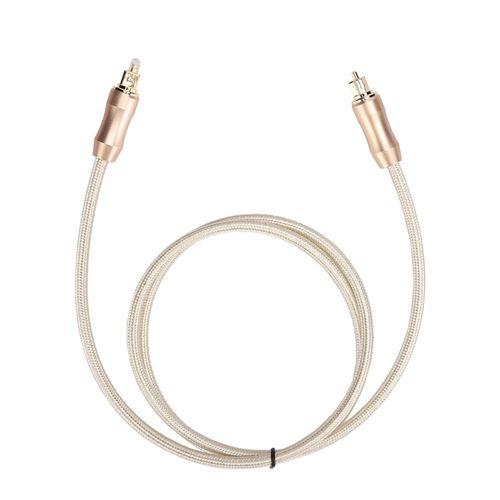 Câble audio SPDIF carré à fibre optique Toslink pour décodeur audio d'amplificateur de puissance 1m