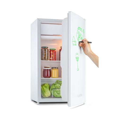 Klarstein Spitzbergen Uni - Réfrigérateur 90 litres , compartiment freezer 10 L , classe F - Blanc
