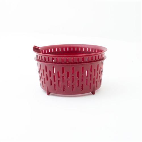 Panier De Cuisson Rouge Pour Robot Cuisio Reverse De Kitchencook