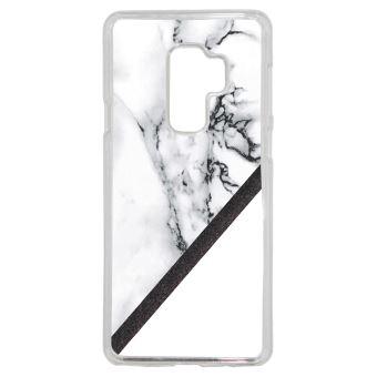 Coque Galaxy A8 2018 Marbre noir or