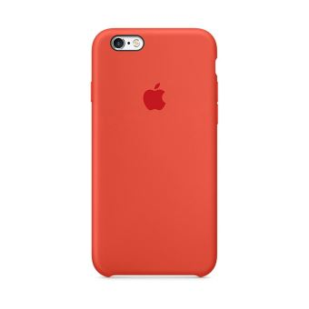 coque silicone iphone 6 rouge