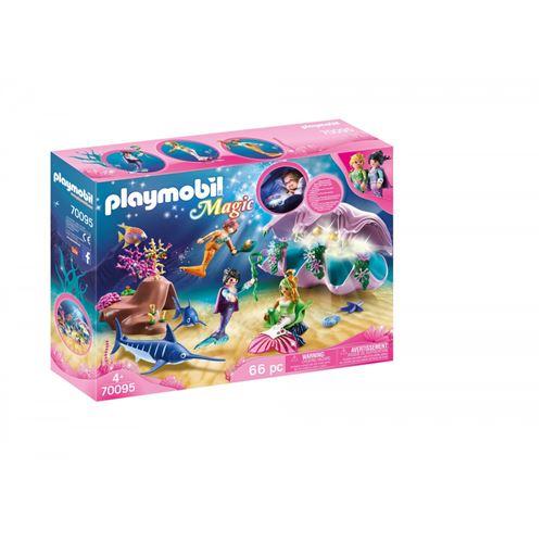 Playmobil Magic 70095 Coquillage lumineux avec sirènes