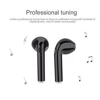 UMIWE TWS i7s Mini Écouteurs sans fil Bluetooth du version améliorée noir
