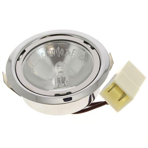 Spot + ampoule halogene 12v 20w pour Hotte Whirlpool