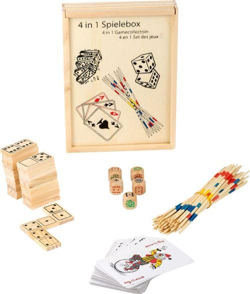 Boîte de jeux 4 en 1 - 2866