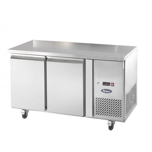 Table réfrigérée positive - 2 portes 280 l