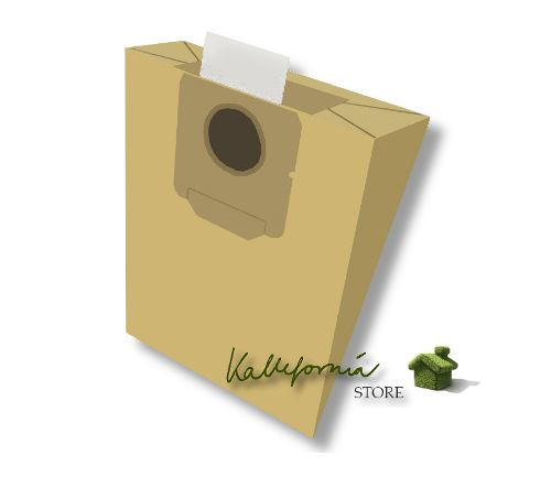 Kallefornia k112 8 sacs pour aspirateur Moulinex Vectral 1200 1400 EL
