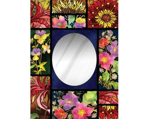 Puzzle 850 Pièces : Puzzle Miroir - Patchwork, Art Puzzle