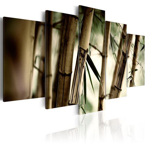 Paris Prix - Tableau Imprimé forêts De Bambous 50 X 100 Cm
