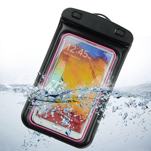 Samsung Galaxy J5 2016 Housse, étui, coque (Brassard sport) étanche pour activités Nautiques humide , - Transparent