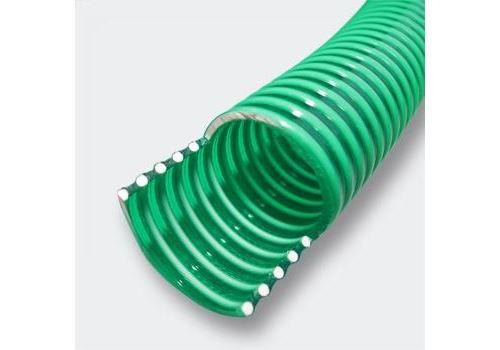 25 mètres Tuyau d'aspiration en PVC 3/4 Pouces (19,05 mm), avec spirale de renforcement