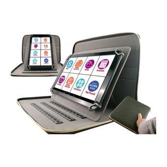 tablette pour senior 10 pouces avec pochette luxe tablette tactile achat prix fnac. Black Bedroom Furniture Sets. Home Design Ideas
