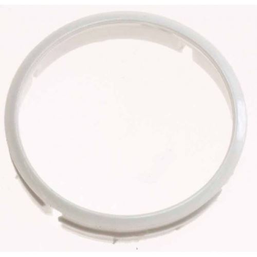 Collerette bouton blanc pour four zanussi - 355600801