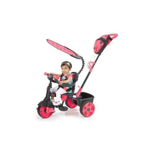 Little Tikes Tricycle Evolutif 4 En 1 Deluxe Edition Neon Rose