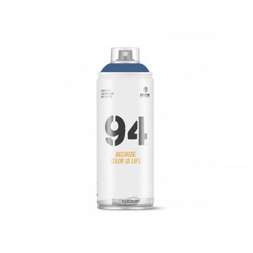 Bombe de peinture MTN 94 - bleu tornade