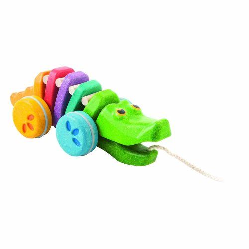Jouet en bois Plan Toys Alligator Arc-en-ciel