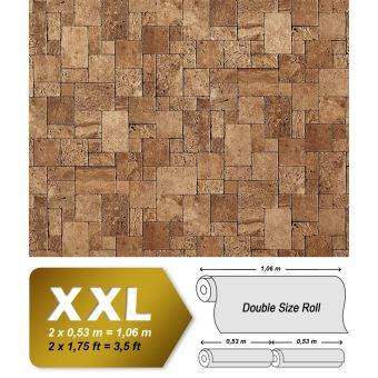 Xxl Papier Peint Intisse Aspect Pave Mosaique Edem 957 23 Mur De